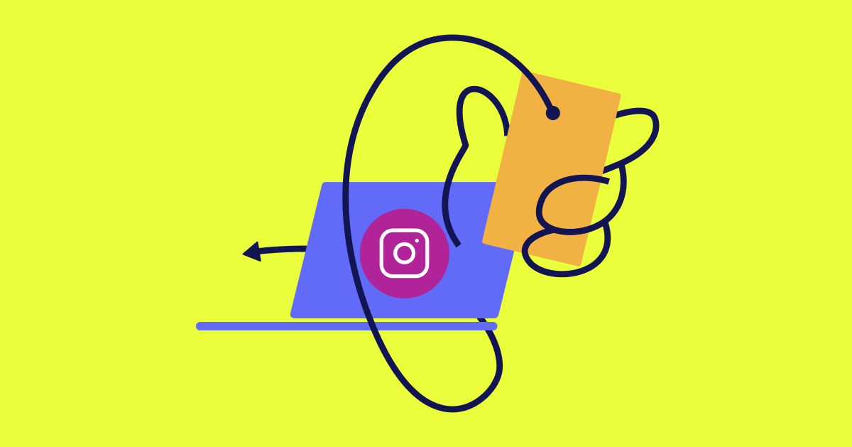 how to post on instagram on a computer