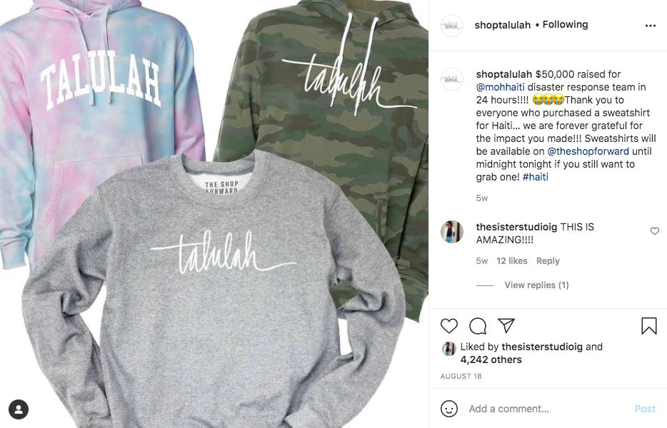 How to use Instagram to highlight your charitable efforts on Instagram